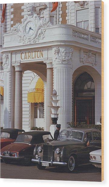 Carlton Hotel Wood Print