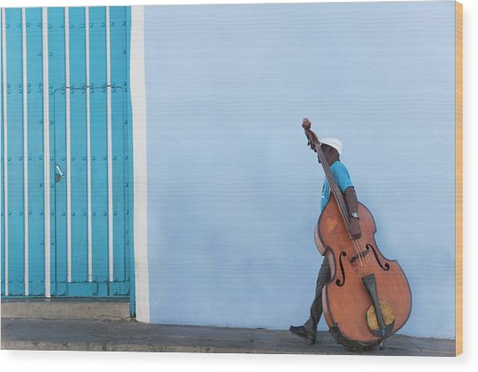 Cuba. Santiago De Cuba. Calle Heredia Wood Print