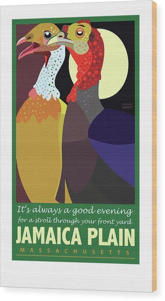 Date Night Jp Wood Print