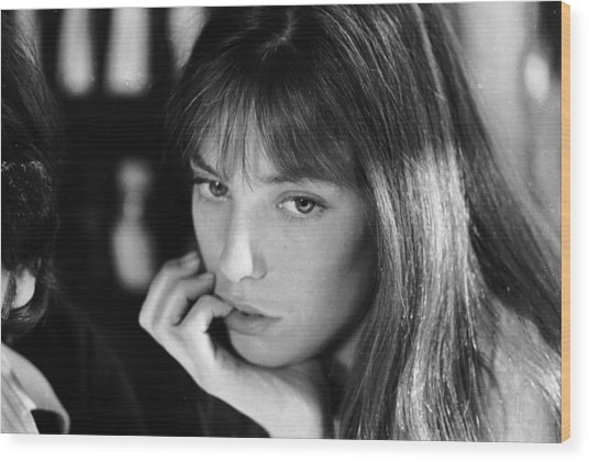 Jane Birkin Wood Print by Keystone