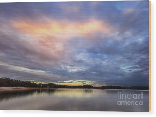 Lake Sidney Lanier Wood Print