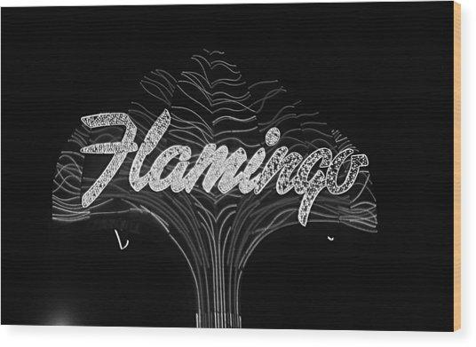 Las Vegas 1984 Bw #11 Wood Print