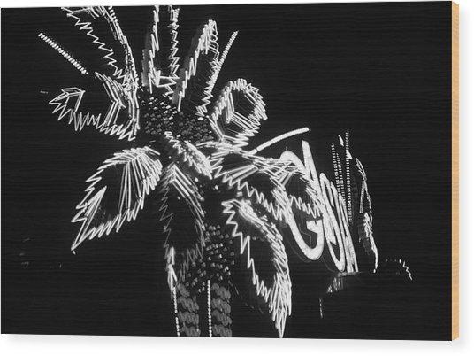 Las Vegas 1984 Bw #9 Wood Print
