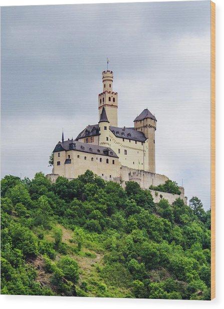 Marksburg Castle - 2 Wood Print
