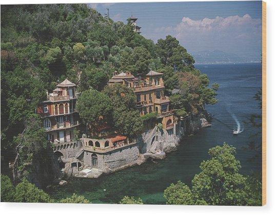 Portofino Wood Print