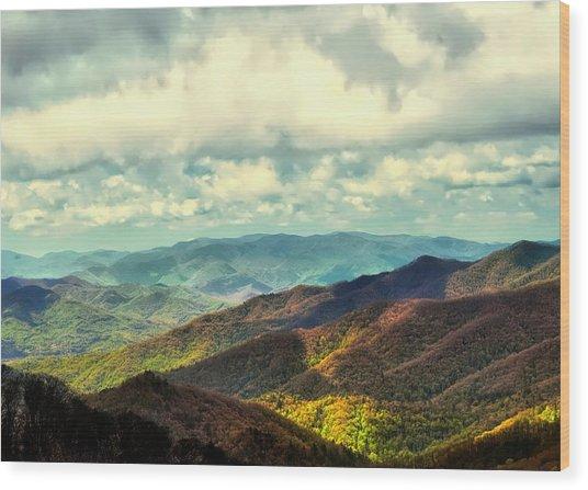 Smoky Mountain Memory Wood Print