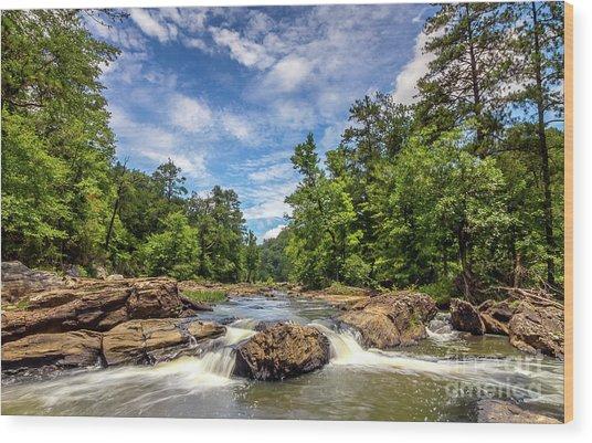 Sweetwater Creek Wood Print