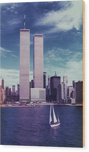 Twin Towers Remembered Wtc Wood Print