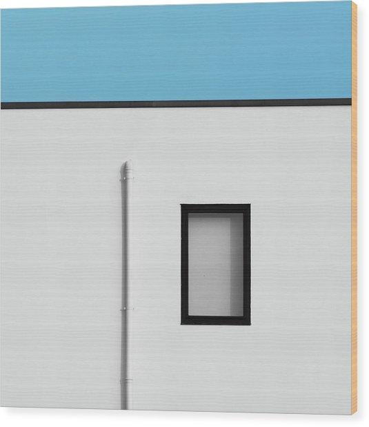 Verona Windows 1 Wood Print