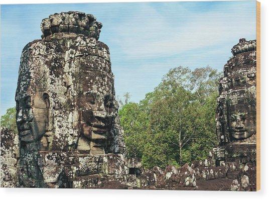 Siem Reap, Cambodia Wood Print by Miva Stock