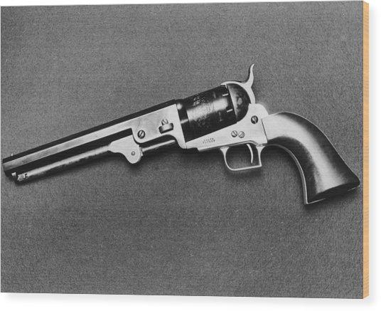 1851 Colt Navy Wood Print by Keystone