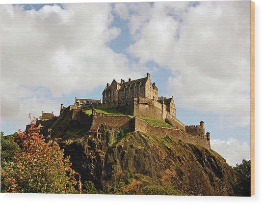 19/08/13 Edinburgh, The Castle. Wood Print