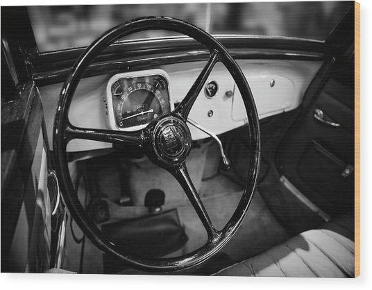 1936 Citroen Roadster Wood Print