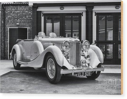 1936 Lagonda Lg45 Tourer  Wood Print