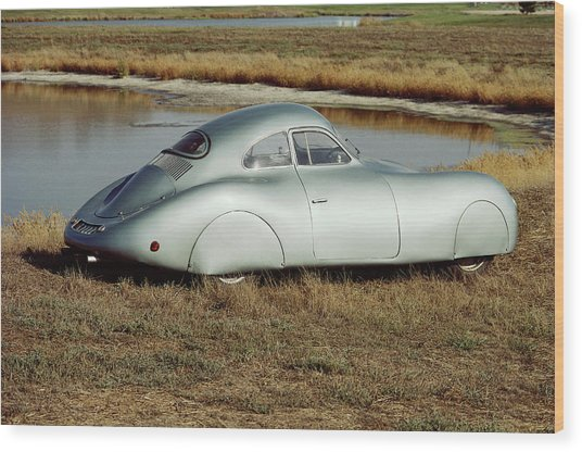 1939 Porsche 60k10 Wood Print by Car Culture