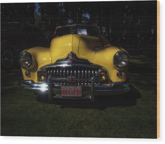 1948 Buick Roadmaster Wood Print