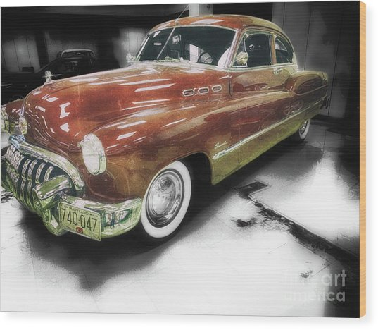 1950 Special  Wood Print by Steven Digman