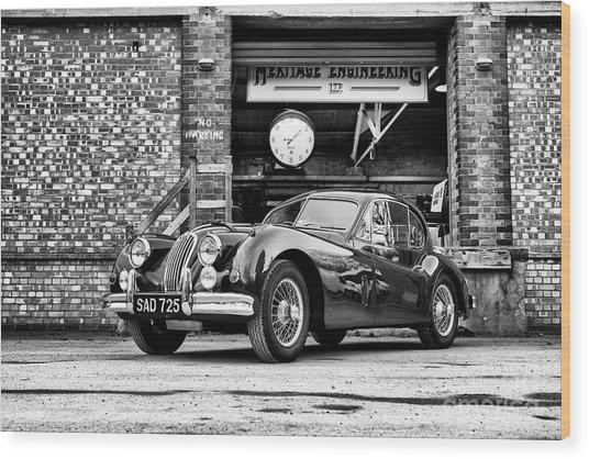 1956 Jaguar Xk  Wood Print