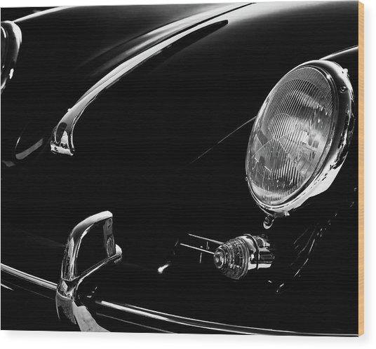 1956 Porsche 356 Wood Print
