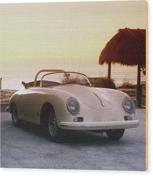 1958 Porsche 365a Carrera Gt Speedster Wood Print