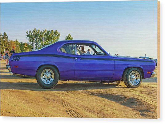 1971 Plymouth Duster 340 Wood Print