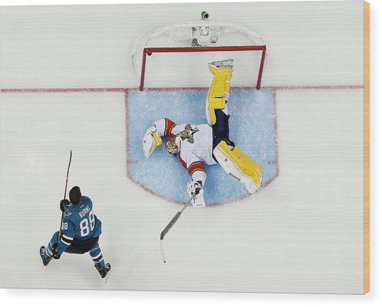 2015 Honda Nhl All-star Skills Wood Print
