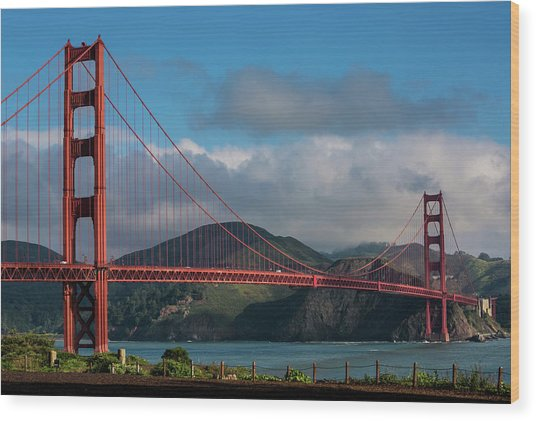 Exploring San Francisco & The Bay Area Wood Print by George Rose