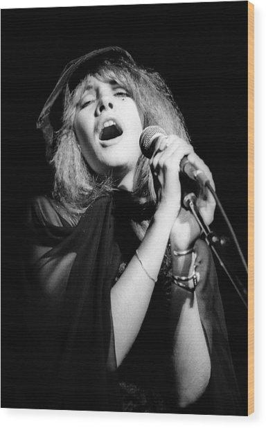 Fleetwood Mac Live Wood Print by Ed Perlstein