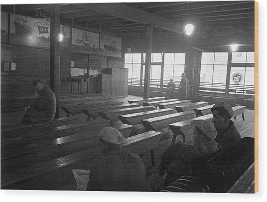 Ila Dispatch Hall, Tacoma, Washington Wood Print by John Florea