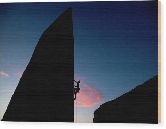 Malta Sport Climbing 2012 Wood Print