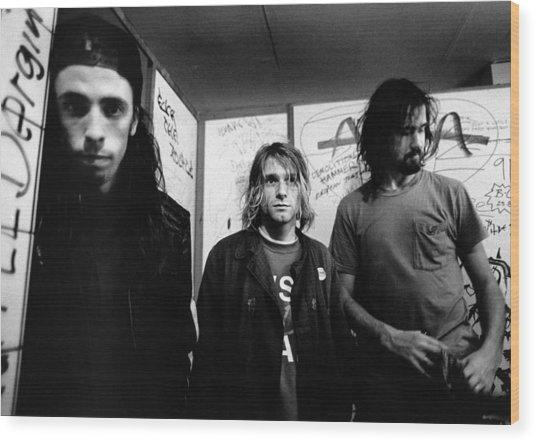Photo Of Nirvana Wood Print by Paul Bergen