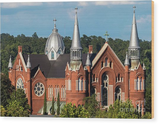 Sacred Heart Cultural Center - Augusta Ga Wood Print