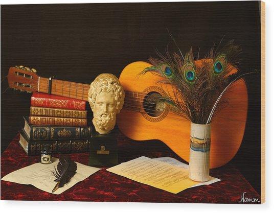 The Arts Wood Print