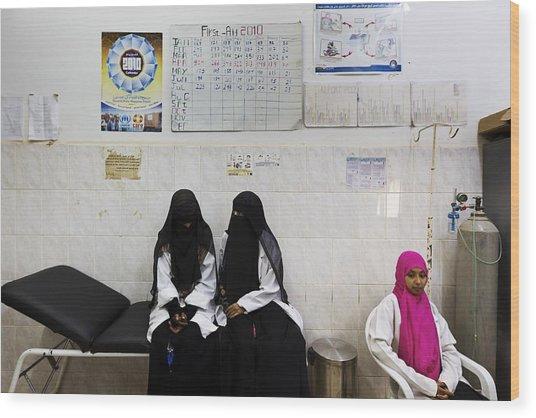 The Republic Of Yemen Wood Print by Brent Stirton