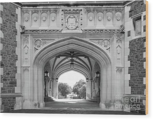 Washington University Brookings Hall Wood Print