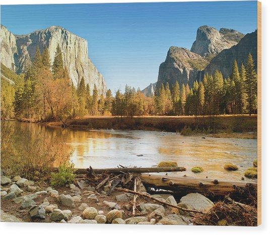 Yosemite National Park , California Wood Print