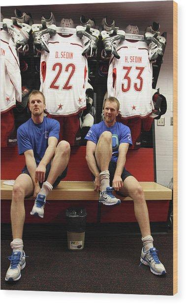 2012 Tim Hortons Nhl All-star Game Wood Print