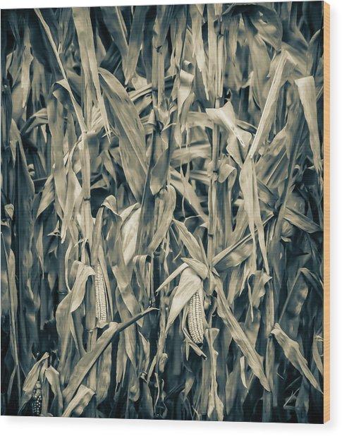 2018 Corn Wood Print