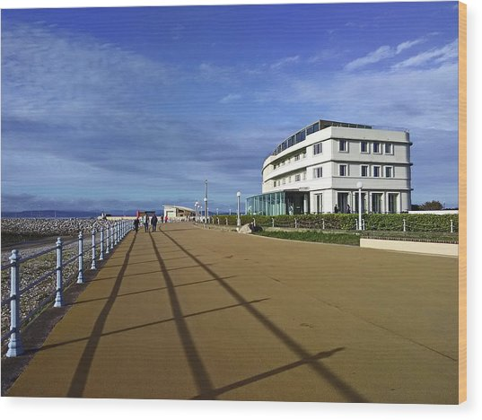 22/09/18  Morecambe. The Midland Hotel. Wood Print