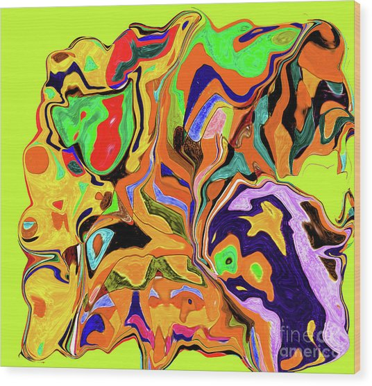 3-19-2010wabcdefghiklmnop Wood Print