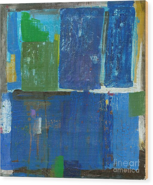 Abstract, Which Consists Of A Plurality Wood Print