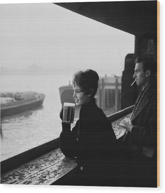 Brigitte Bardot Wood Print