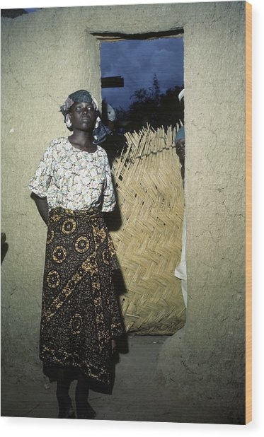 Maiduguri Nigeria Wood Print by Michael Ochs Archives