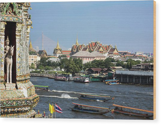 Bangkok, Thailand Wood Print by Miva Stock