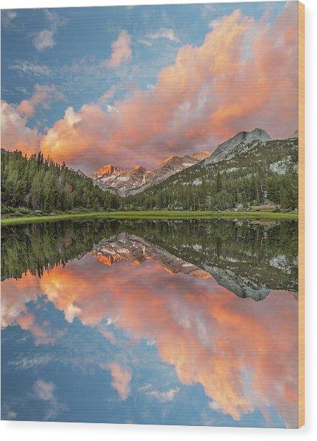 Marsh Lake At Sunrise, John Muir Wood Print by Adam Jones