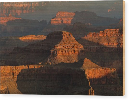 Usa, Arizona, Grand Canyon National Park Wood Print by Jaynes Gallery