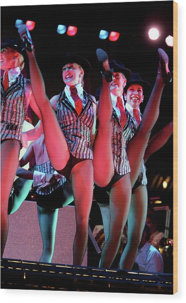 4th Annual Broadway Under The Stars Wood Print