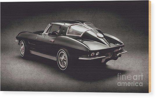 63 Chevrolet Corvette Stingray Wood Print