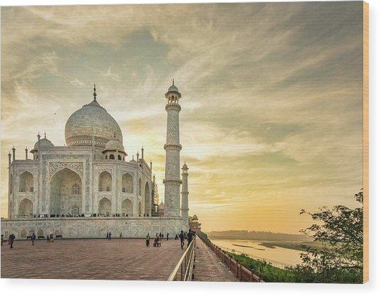 India, Uttar Pradesh Wood Print by Alison Jones