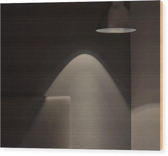 A Bedroom Corner Wood Print